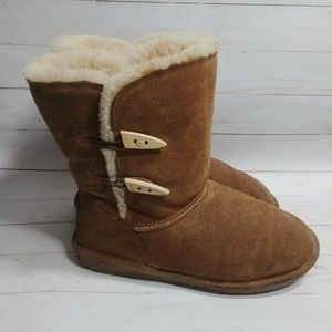 Tan Abigail Bearpaw Boot